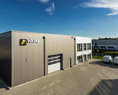 Völske Elektro-Anlagen Firmengebäude in Gudensberg