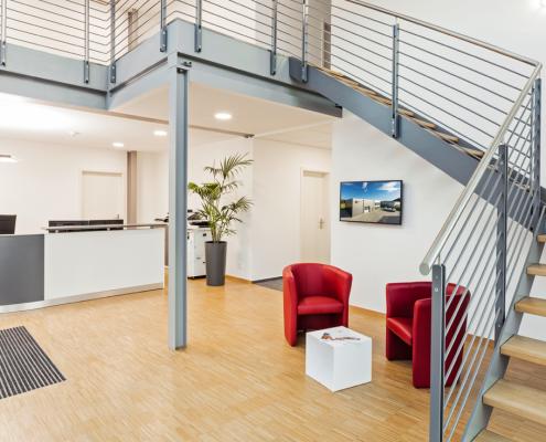Moderne Büroräume bei Völske in Gudensberg