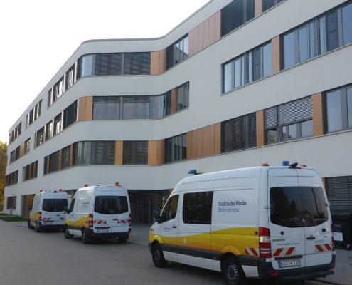 Bürogebäude NSG - Außenansicht Südseite