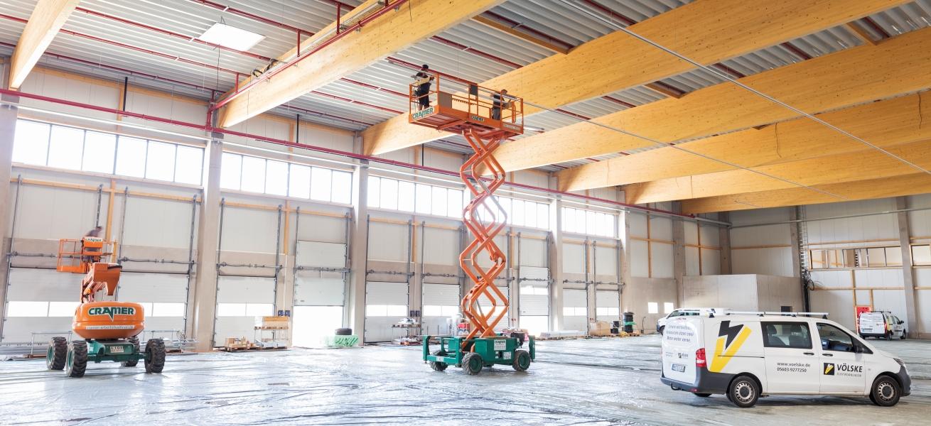Karriere als Obermonteur auf Grossbaustellen - Völske Elektro-Anlagen