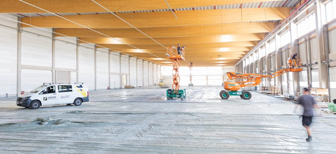 Karriere als Montagehelfer auf Grossbaustellen - Völske Elektro-Anlagen