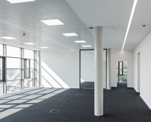 Realisiertes Büroobjekt in Paderborn